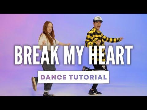 DUA LIPA - Break My Heart | Dance Tutorial with Kyle Hanagami