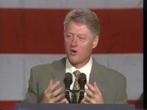 Pres. Bill Clinton - California State Democratic Convention - 1996