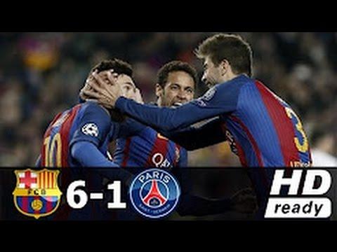 Download Barcelona vs Paris Saint-Germain 6-1 -All Goals & Extended Highlights  08/03/2017 HD