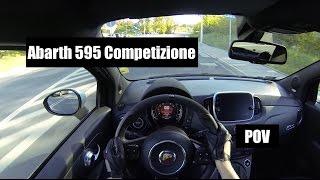 2016 Abarth 595 Competizione POV Test Drive