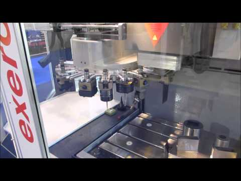 Exeron EDM312 CNC EDM Machine @ MACH 2014