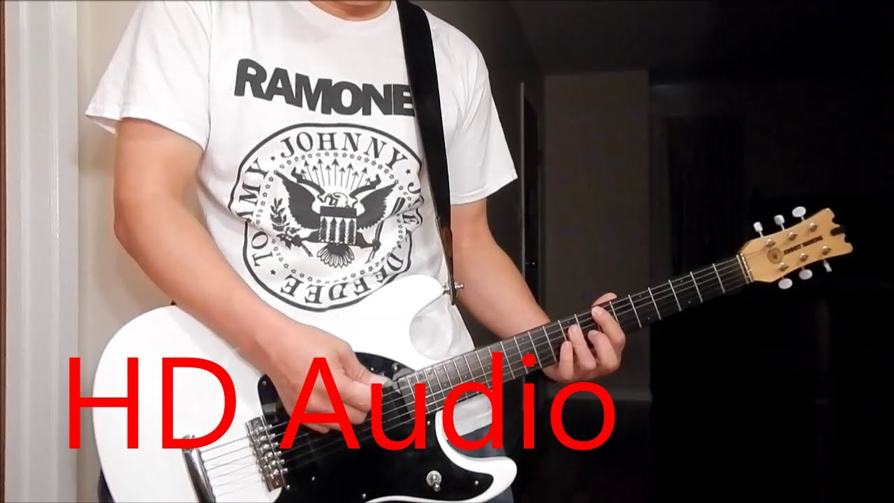 Ramones I Remember You Live Guitar Cover Barre Chords