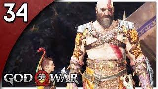 Let's Play God of War Part 34 - Light Elf Outpost [God of War 4 2018 PS4 Gameplay]