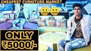 Cheapest Furniture Market In Delhi | Starting at ₹500/- | Prateek Kumar | 2019