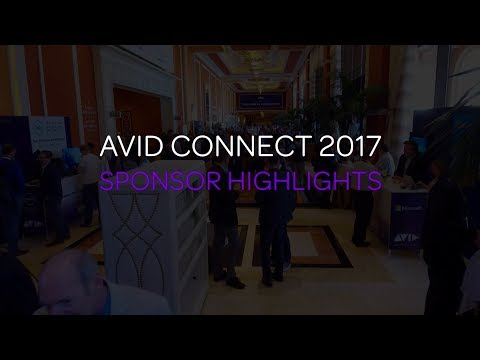 Avid Connect 2018: Sponsor an Industry-Leading Event!