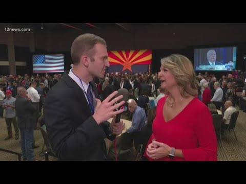 Dr. Kelly Ward Supports Martha McSally At GOP Watch Party In Scottsdale