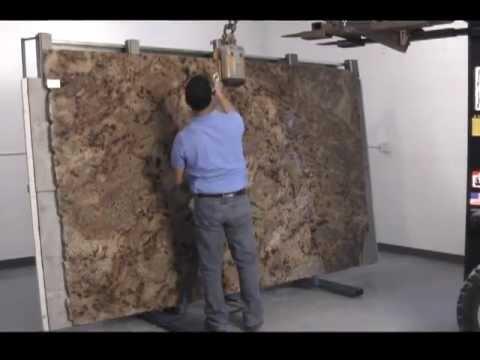 Tilting Fab Table For Granite Slabs Accuglide Eztilt