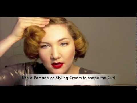 The Marilyn 1950s Short Hair Glamour Tutorial Revised And Edited Youtube