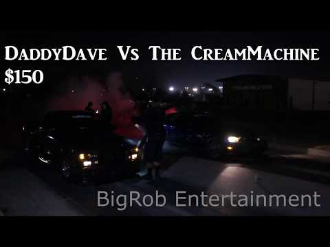 DaddyDave vs The Cream Machine