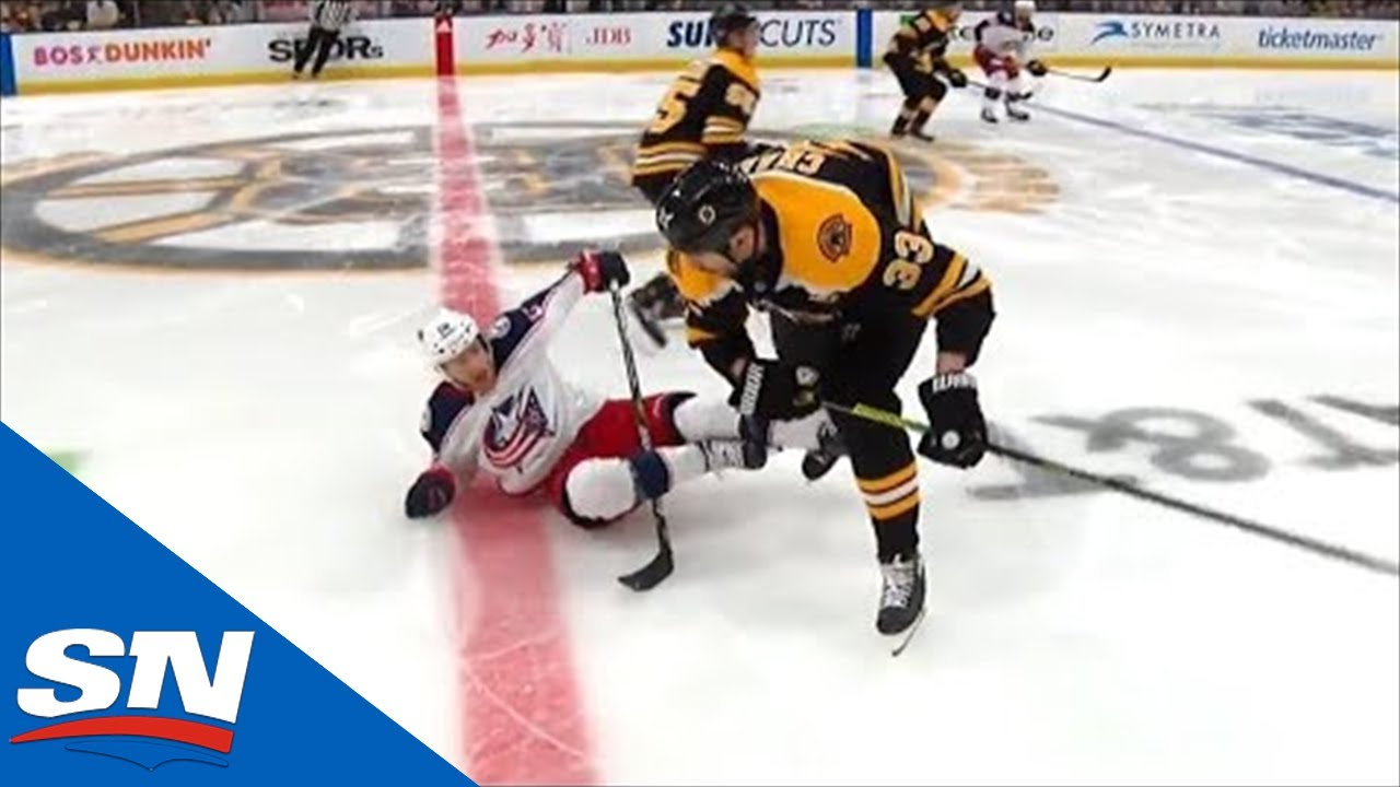 Riley Nash Shaken After Getting Crushed By Zdeno Chara