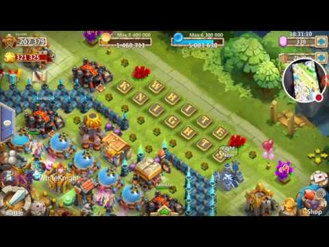Castle Clash: Snacks from Taiwan Challenge!