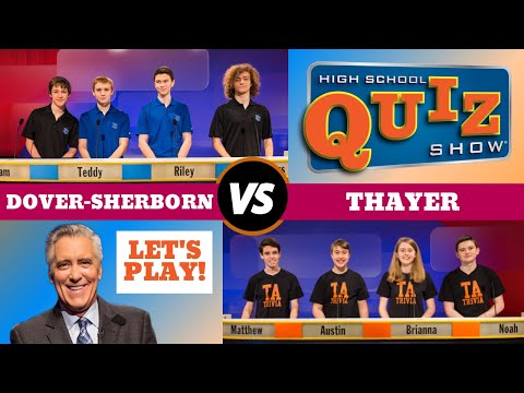 High School Quiz Show - Dover-Sherborn vs. Thayer (808)