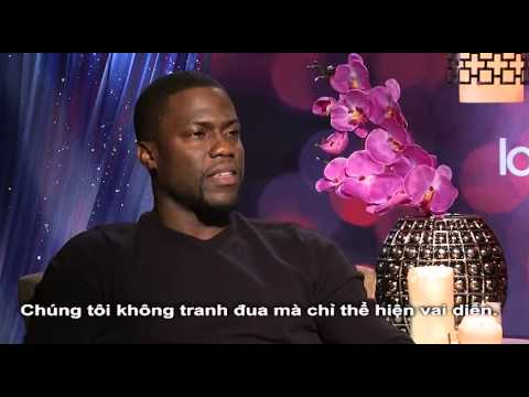 'ABOUT LAST NIGHT' interview with Kevin Hart, Regina Hall