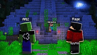 We FOUND a CURSED TEMPLE in Minecraft! (Haunted Minecraft Temple)