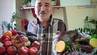 БАРАНИНА в духовке. Фаршированные помидоры, перец, цветная капуста