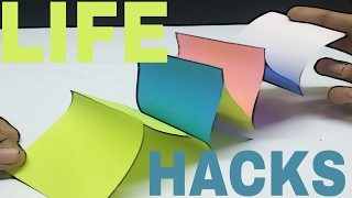 5 Simple And Amazing Lifehacks with Post it or Sticky note | Lifehack with post it or sticky note