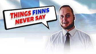 Korroosio - Asioita joita suomalaiset eivät koskaan sano / Things Finns never say