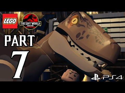 LEGO Jurassic World Walkthrough PART 7 (PS4) Gameplay No Commentary[1080p] TRUE-HD QUALITY