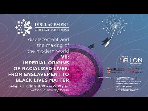 Mellon Sawyer Seminar on Displacement VII - Panel 2