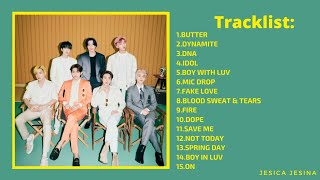 BTS 15 Best Songs [Playlist for Motivation and Cheer Up]