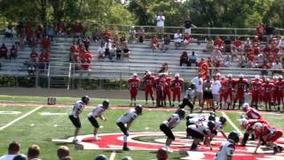 Billy and Dillon.. Oak Hills High School Football 2011