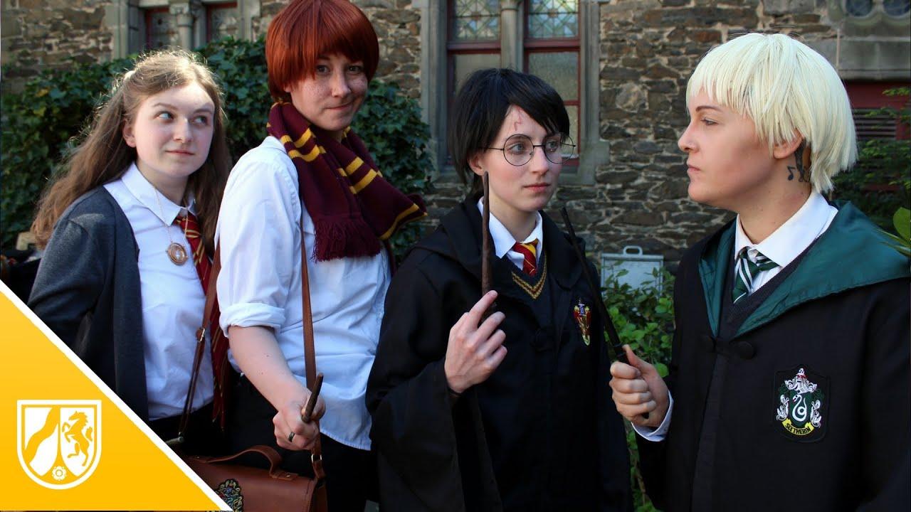 Solingen Tausende Feiern Harry Potter Special Auf Schloss Burg