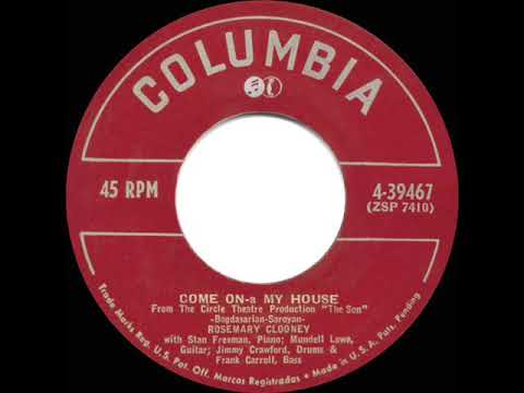 1951 HITS ARCHIVE: Come On-A My House - Rosemary Clooney (a #1 record) mp3