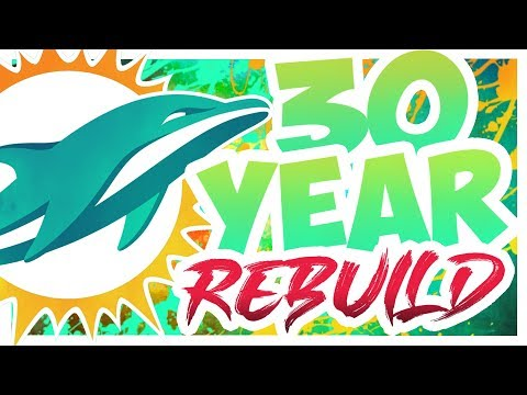 30 Year Realistic Rebuild! - Rebuilding The Miami Dolphins - Madden 20 Connected Franchise Rebuild