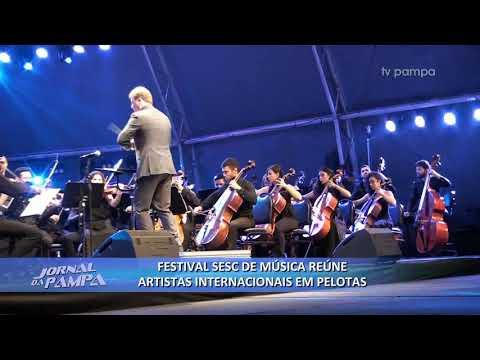 Festival Sesc de Música reúne artistas internacionais em Pelotas   Jornal da Pampa   03/02/2020