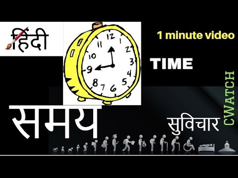 सवचर समय Time Top Motivational Quotes In Hindi