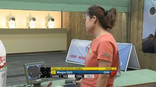 10m Women's Air Pistol final - Granada 2013 ISSF World Cup in All Events