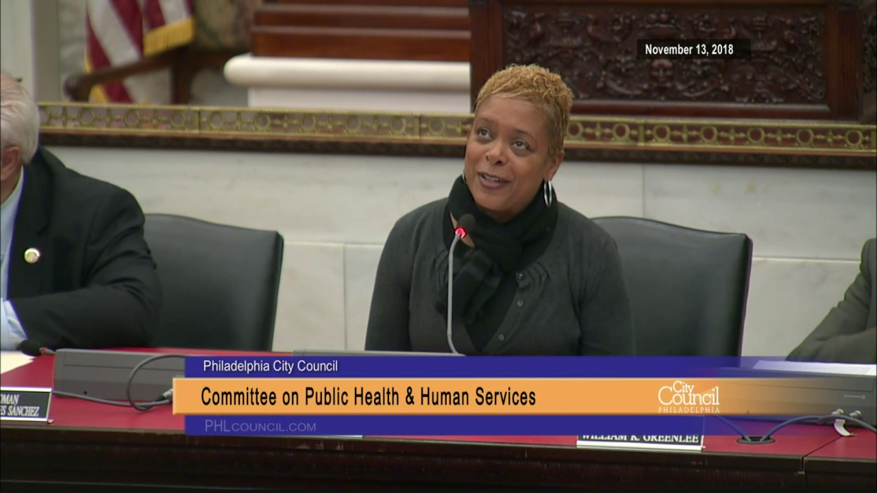 Committee on Public Health and Human Services 11-13-2018