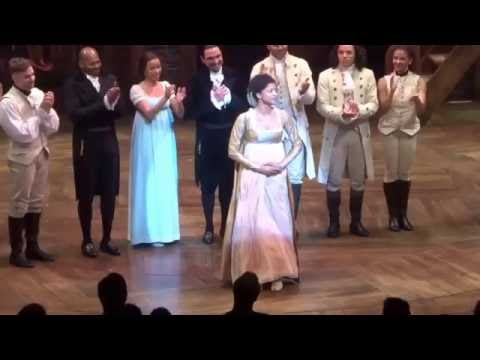 Renee Elise Goldsberry Final Bow Hamilton September 3, 2016 ...