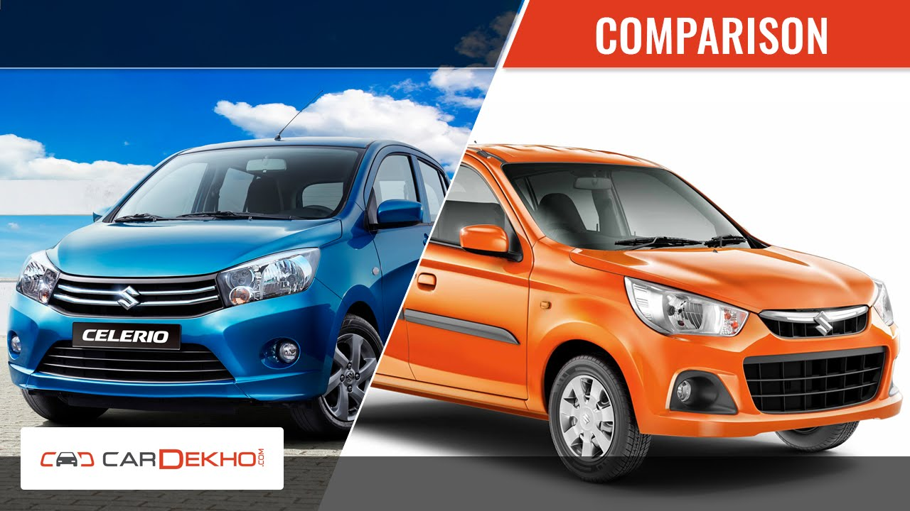 alto k 10 vs celerio comparison video youtube. Black Bedroom Furniture Sets. Home Design Ideas