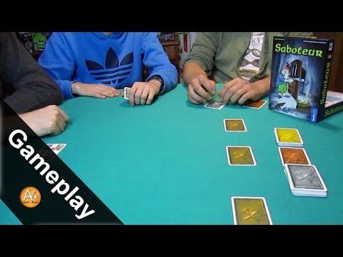 Gameplay - Scaviamo miniere su Saboteur!