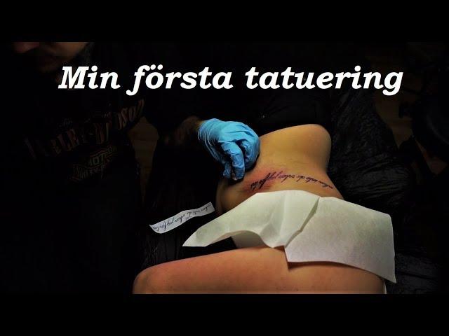 Min Första Tatuering! | Vlogg