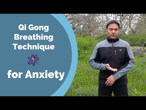 Qi Gong Breathing Technique for Anxiety - with Jeffrey Chand