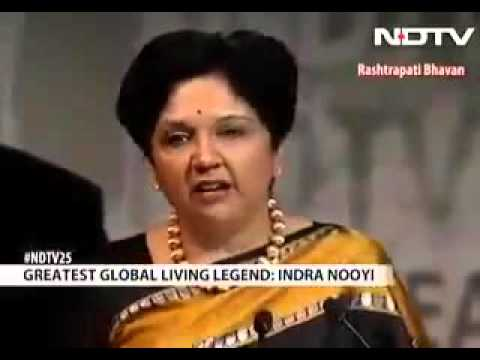 Don't miss 2 min speech by Indra nooyi ceo of pepsico  -Inspirational speech