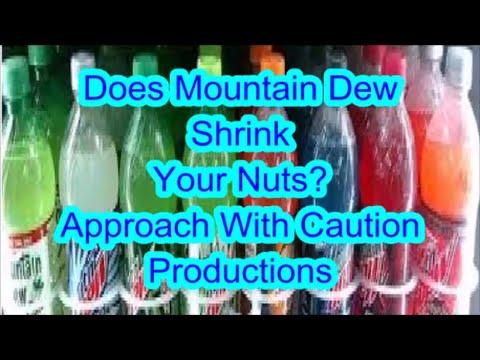 Pair mountain dew kill sperm voice