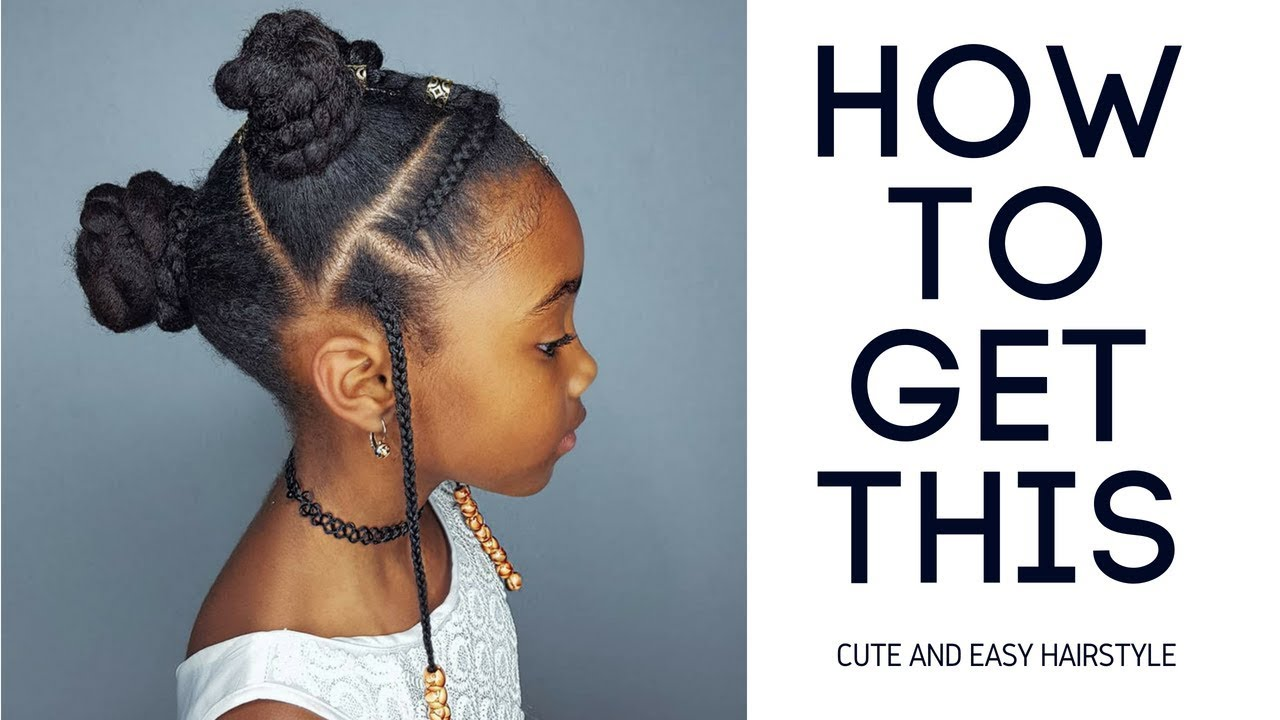 Buns, Braids & Beads- Hairstyles for Black Girls