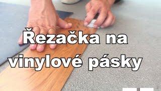 Jak nařezat vinylové pásky do lišt řezačka Döllken na vinylové a PVC pásky