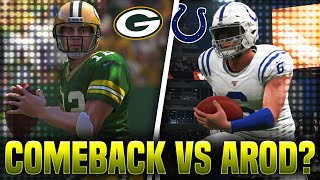 THE COMEBACK VS AARON RODGERS!? Madden 20 Face Of the Franchise!