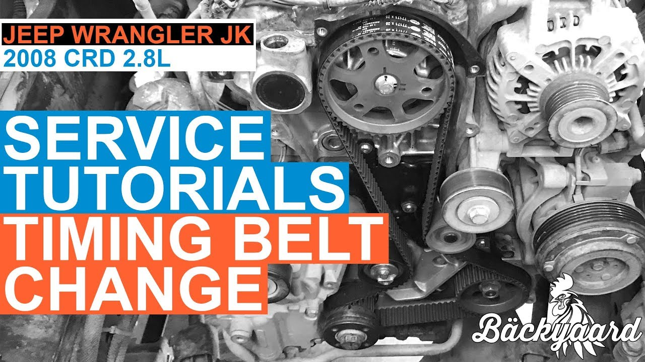 Jeep Wrangler 2.8 CRD VM Motori timing belt kit