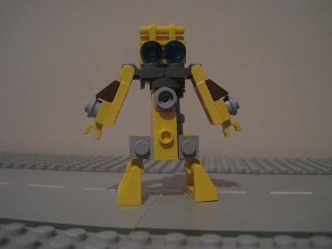 INSTRUCTIONS - LEGO Transformers Welder