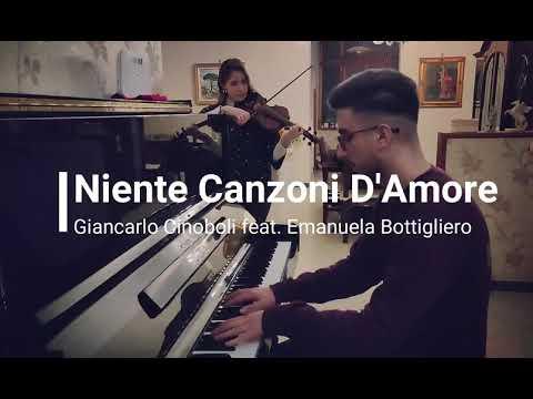 Niente Canzoni D Amore Elodie Piano Violin Cover Feat Emanuela Bottigliero Spartito Youtube