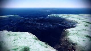 The Blue Hole of Dahab animated in 3D