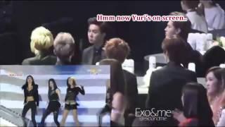 vuclip 140212 Suho knows about Baekyeon... and Yulhan?