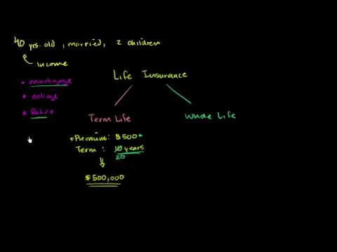 Term And Whole Life Insurance