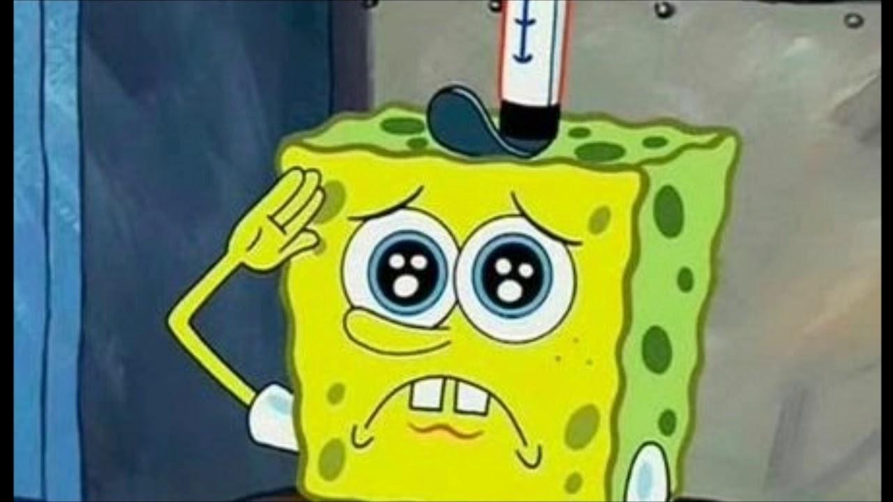 Картинка грустный спанч боб