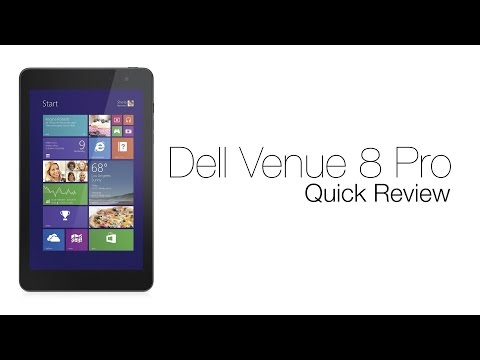 Best Affordable Gaming Tablet: Dell Venue 8 Pro Review